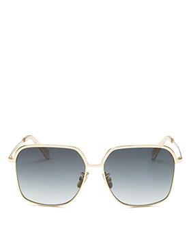 CELINE - Women's Square Sunglasses, 56mm