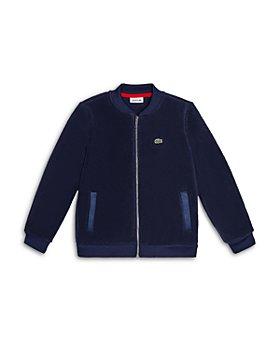 Lacoste - Boys' Full Zip Bomber Sweatshirt - Little Kid, Big Kid