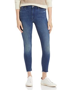 Mother The Looker Frayed Ankle Jeans in Bazaar Adventures-Women