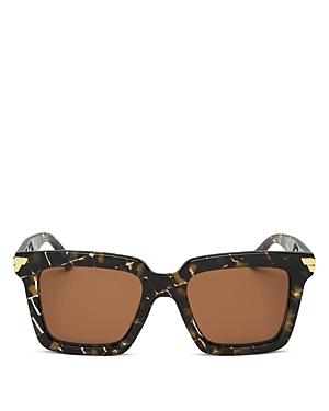 Bottega Veneta Women's Square Sunglasses, 53mm
