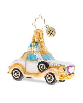 Christopher Radko - Wedding Bliss Chariot Gem Ornament