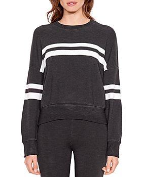 Sundry - Stripes Oversized Sweatshirt