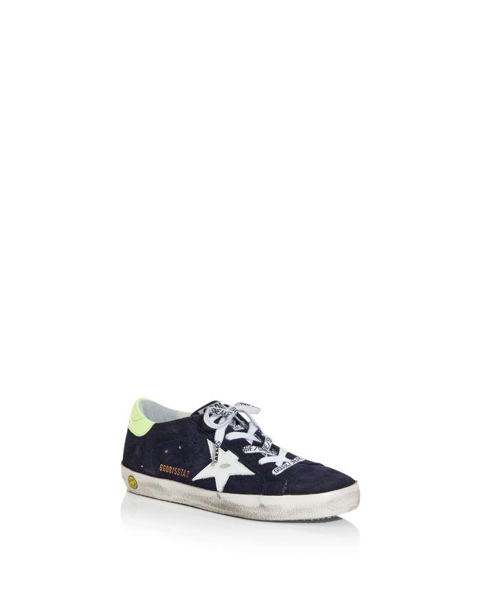 Golden Goose Deluxe Brand Boys' Superstar Low Top Sneakers - Toddler, Little Kid  | Bloomingdale's