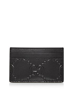 Gucci - GG Embossed Leather Card Case