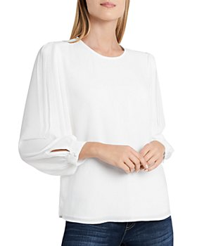 VINCE CAMUTO - Pleated Blouse