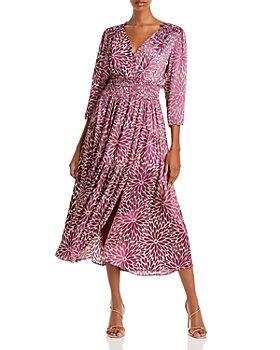 Rebecca Taylor - Fleur Floral Print Midi Dress