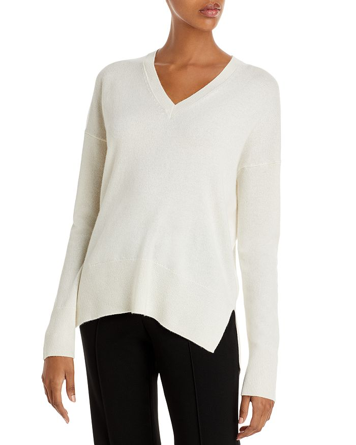 Theory KARENIA V NECK CASHMERE SWEATER