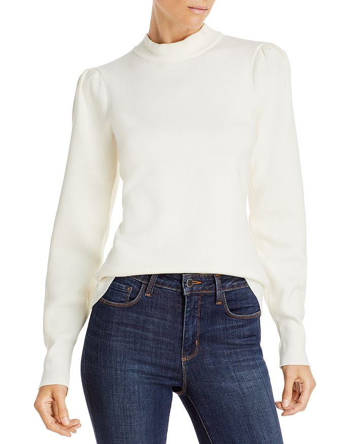 Lini Gillian Mock Neck Sweater - 100% Exclusive In Ivory
