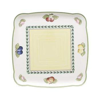 "Villeroy & Boch - ""French Garden"" Square Platter"