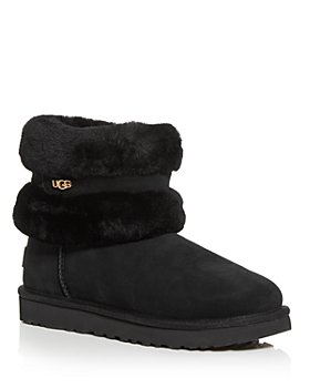 UGG® - Women's Fluff Mini Belted Shearling Booties