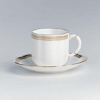 "Royal Crown Derby - ""Carlton Gold"" Coffee Cup"