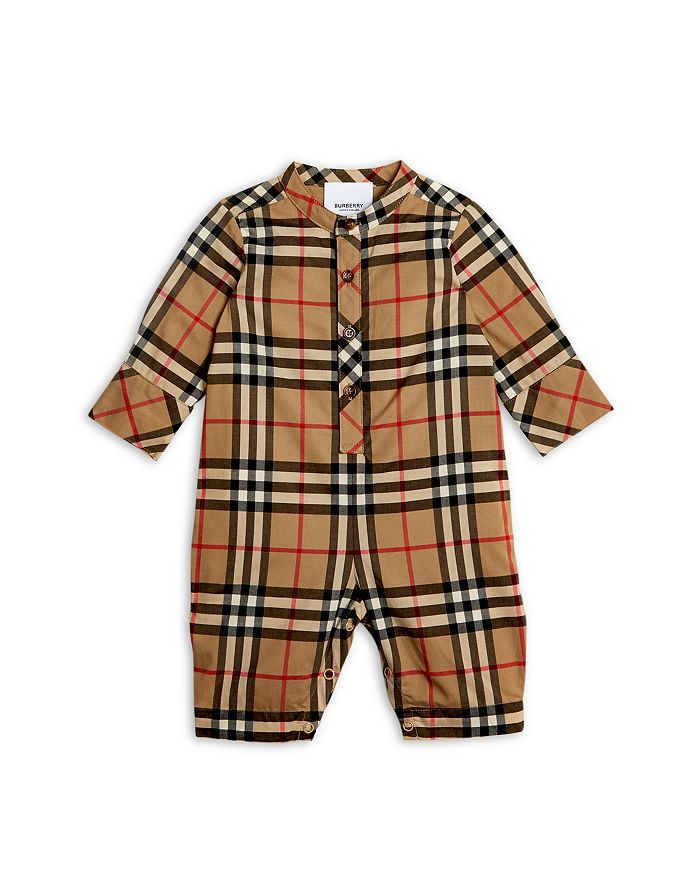 Burberry - Boys' Pierre Vintage Check Romper - Baby