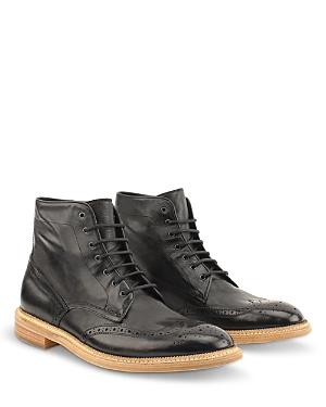 Men's Max Lace Up Wingtip Boots