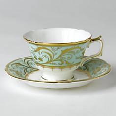 """Royal Crown Derby - """"Darley Abbey"""" Tea Saucer"""