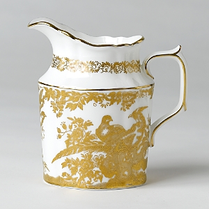 Royal Crown Derby Gold Aves Creamer