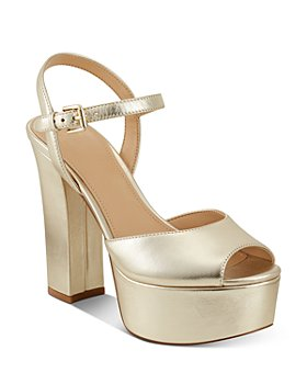 Marc Fisher LTD. - Women's Stacey Peep Toe High Heel Platform Sandals