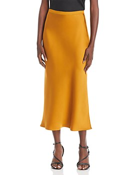 Anine Bing - Bar Silk Midi Skirt