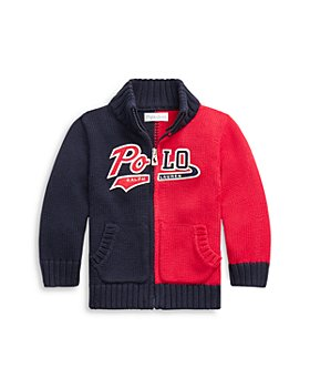 Ralph Lauren - Boys' Full Zip Cotton Sweater - Baby