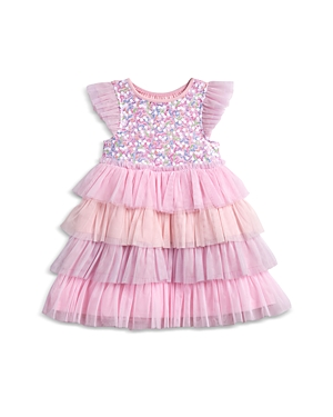 Pippa & Julie Girls\\\' Sequin Tiered Tutu Dress - Baby-Kids
