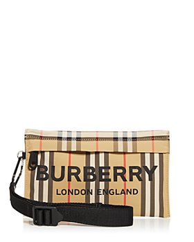 Burberry - Pebble Icon Stripe Wristlet