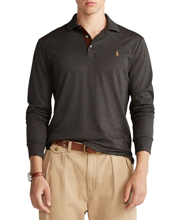 Polo Ralph Lauren - Classic Fit Soft Cotton Long-Sleeve Polo Shirt