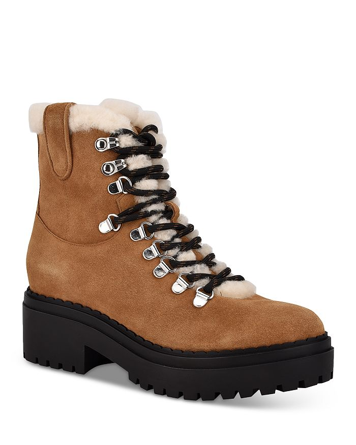 Marc Fisher LTD. - Women's Nalina Shearling Trim Cold Weather Boots - 100% Exclusive