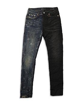 Purple Brand - Skinny Fit Jeans in Half & Half