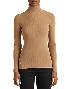 Ralph Lauren LAUREN RALPH LAUREN RIBBED TURTLENECK SWEATER