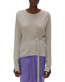 Helmut Lang - Strap Detail Ribbed Sweater