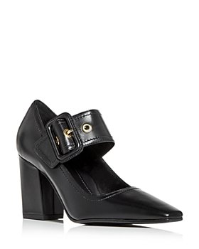 MARION PARKE - Women's Waverly Mary Jane Block Heel Pumps