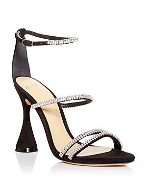 Alexandre Birman ALANDRE BIRMAN WOMEN'S BELLE EMBELLISHED HIGH HEEL SANDALS