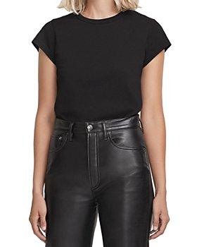 AGOLDE - Irina Cap Sleeve Bodysuit