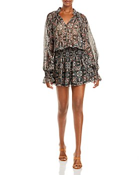 Ramy Brook - Collin Printed Silk Dress