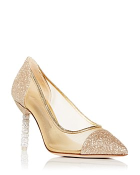 Sophia Webster - Women's Jasmine Crystal Pointed Toe Pumps