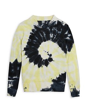 AQUA - Girls' Tie Dye Swirl Sweater - Big Kid