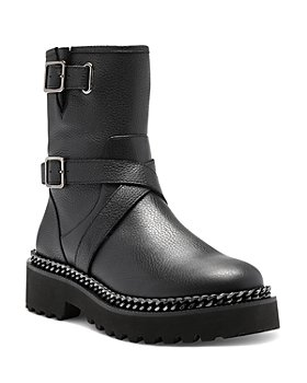 VINCE CAMUTO - Women's Messtia Buckled Booties