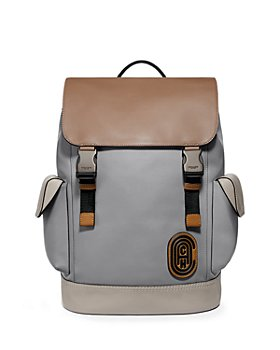 COACH - Leather Color Blocked Laptop Backpack