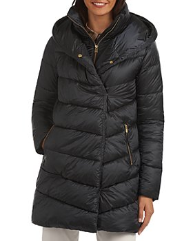 Barbour - Orchy Hooded Double Breasted Wrap Coat