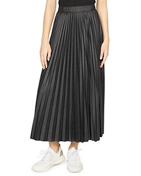 Sanctuary - Top Secret Pleated Faux Leather Skirt