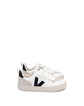 VEJA - Unisex V-10 Upcycled Sneakers - Walker, Toddler, Little Kid