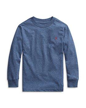 Ralph Lauren - Boys' Long Sleeved Cotton Tee - Little Kid
