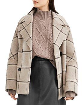 Weekend Max Mara - Atalia Double Breasted Plaid Coat