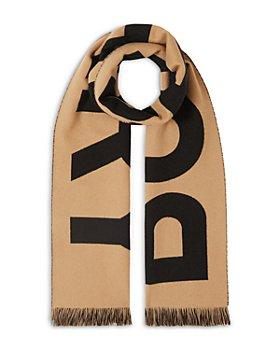 Burberry - Logo Organic Wool Jacquard Scarf