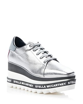Stella McCartney - Women's Elyse Metallic Platform Sneakers