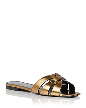 Saint Laurent - Women's Tribute Slip On Sandals