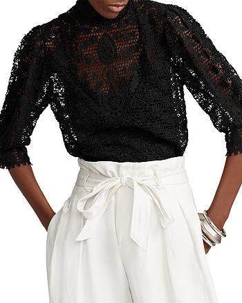 Ralph Lauren - Cotton Lace Blouse