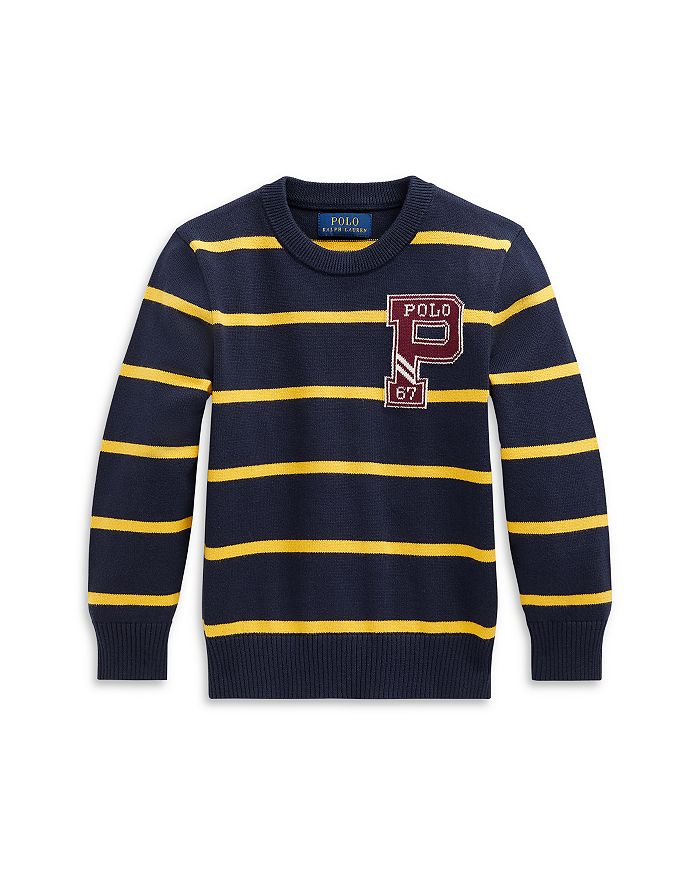 Ralph Lauren - Boys' Striped Sweater - Little Kid, Big Kid
