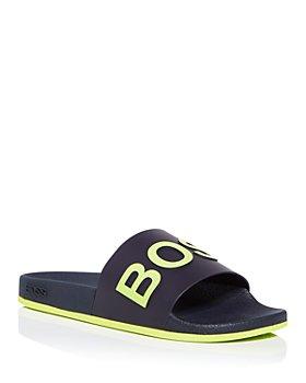 BOSS Hugo Boss - Men's Logo Slide Sandals