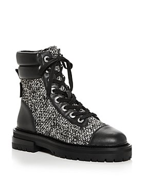 KURT GEIGER LONDON - Women's Shore Cap Toe Combat Boots