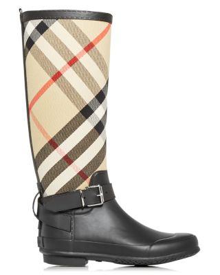 Burberry Rain Boots - Bloomingdale's